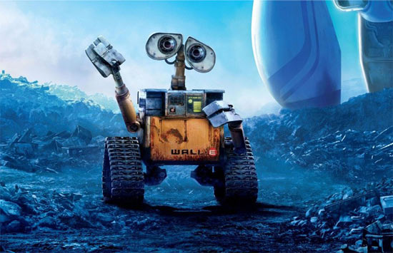 A scene from Wall-E