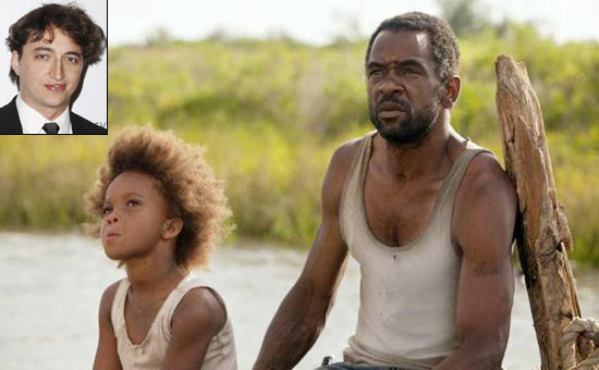 A scene from Beasts Of The Southern Wild. Inset: Benh Zeitlin