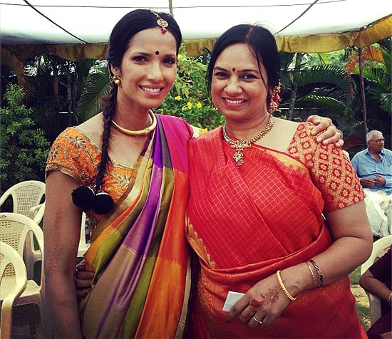 Padma Lakshmi and Neela