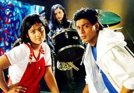 A scene from Kuch Kuch Hotya Hai