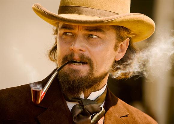 Leonardo DiCaprio in Django Unchained