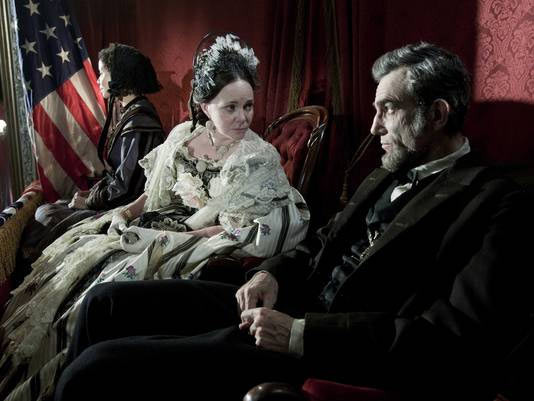 Sally Field and Daniel Day-Lewis in Lincoln
