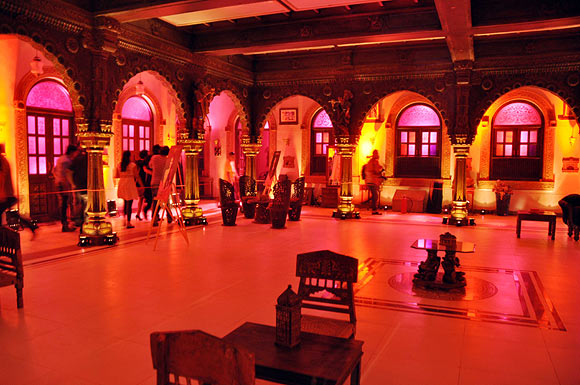 The sets of Saraswathichandra