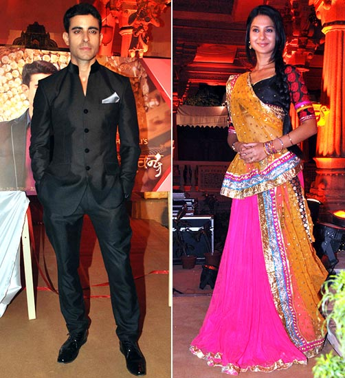 Gautam Rode and Jennifer Winget