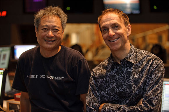 Mychael Danna with Ang Lee