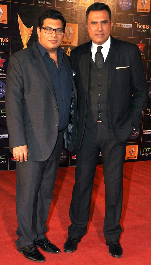 Kayoze and Boman Irani