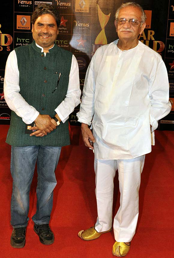 Vishal Bharadwaj and Gulzar