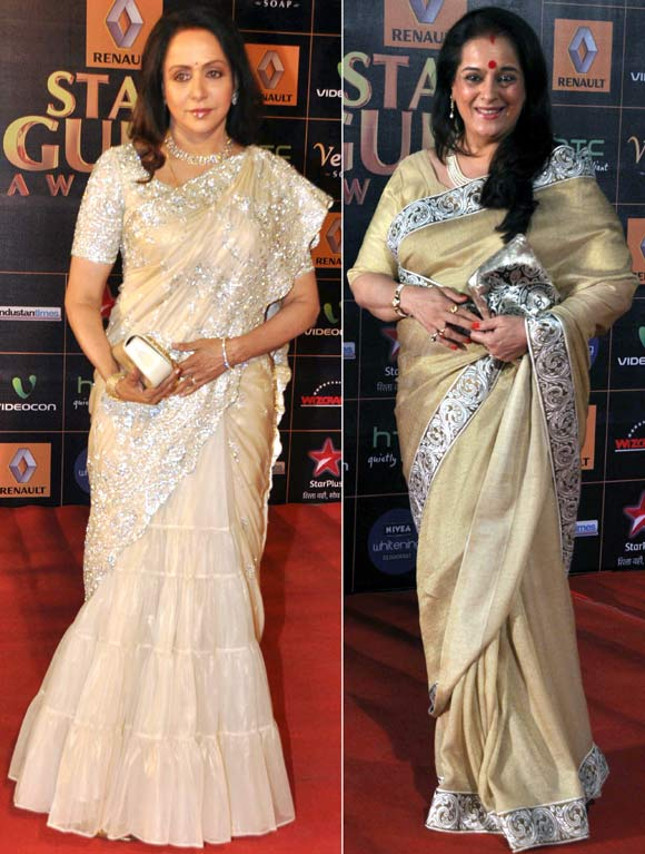 Hema Malini and Poonam Sinha