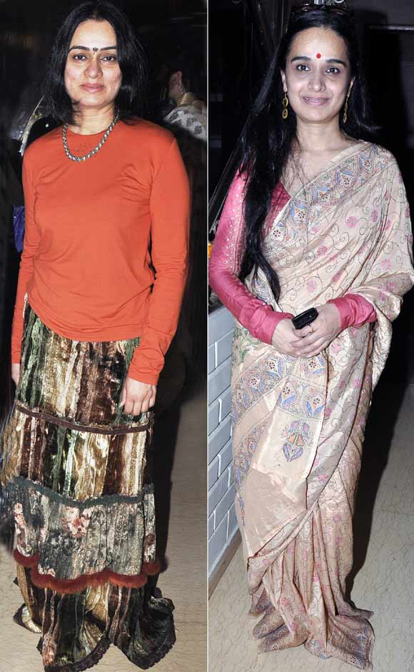 Padmini and Shivangi Kolhapure