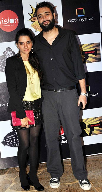 Danish Aslam and Shruti Seth