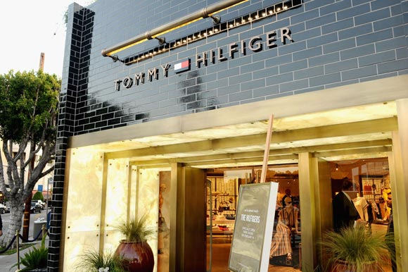 The Tommy Hilfiger store in LA