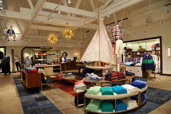 The Tommy Hilfiger store