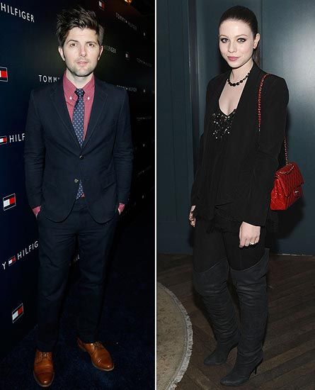 Adam Scott and Michelle Trachtenberg