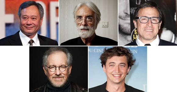 Ang Lee, Michael Haneke, David O Russull, Steven Spielberg, Benh Zeitlin
