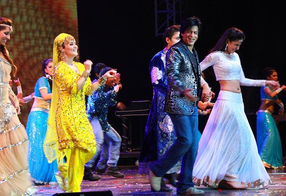Anushka Dandekar, Preity Zinta, Shah Rukh Khan, Katrina Kaif, Ali Zafar