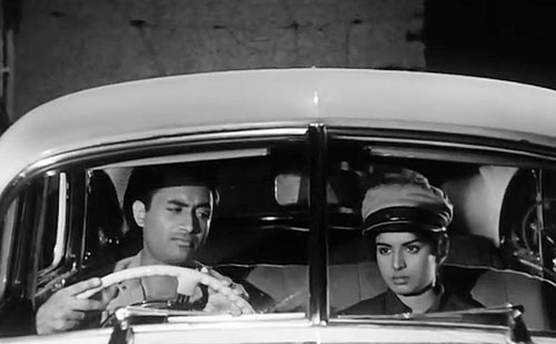 A scene from Taxi Driver