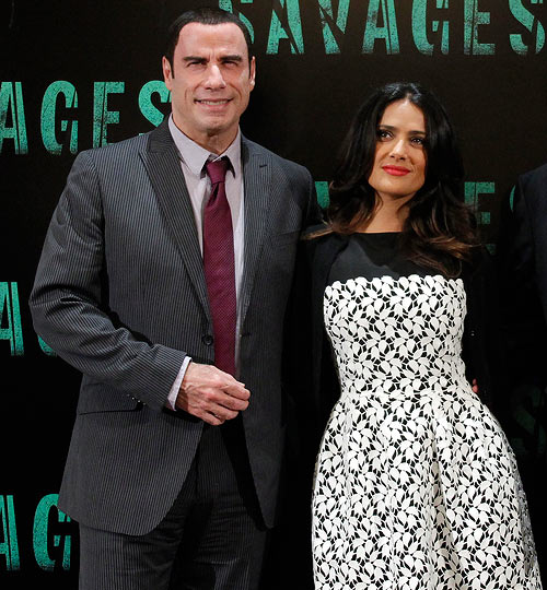 Salma Hayek and John Travolta