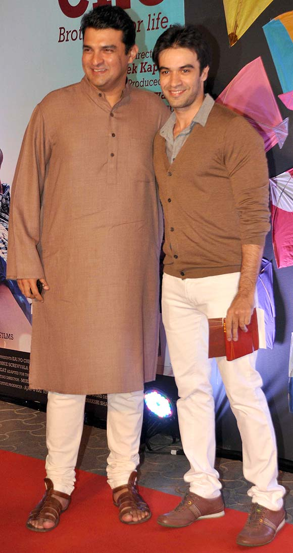 Siddharth Roy Kapur and Punit Malhotra