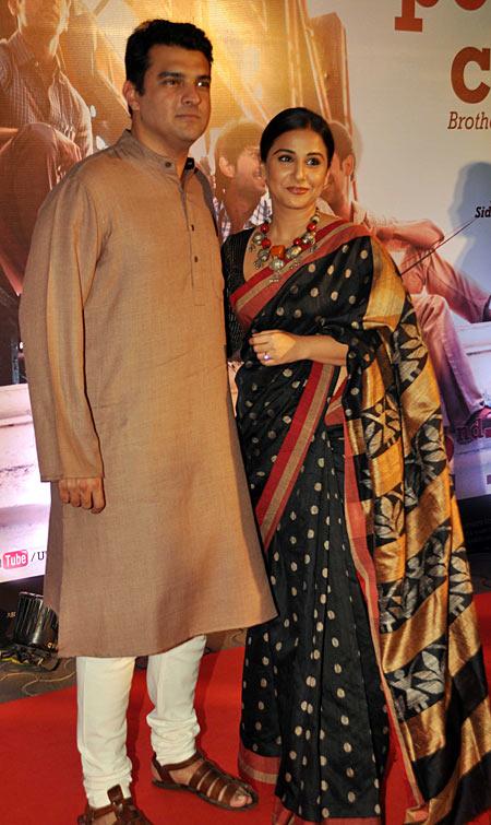 Siddharth Roy Kapoor and Vidya Balan