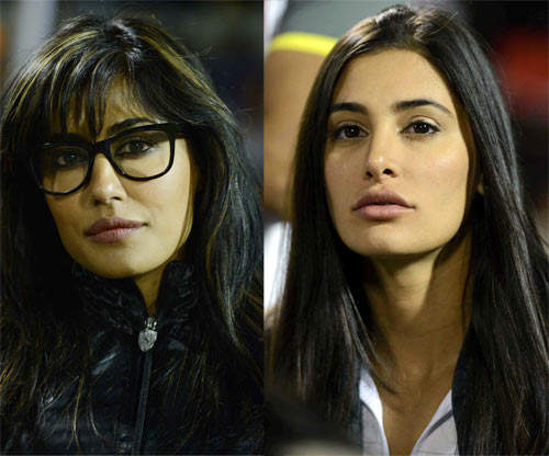 Nargis Fakhri and Chitrangada Singh