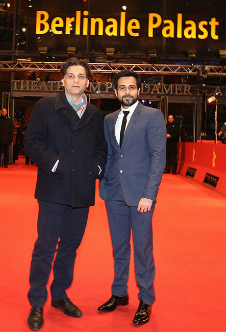 Danis Tanovic and Emraan Hashmi