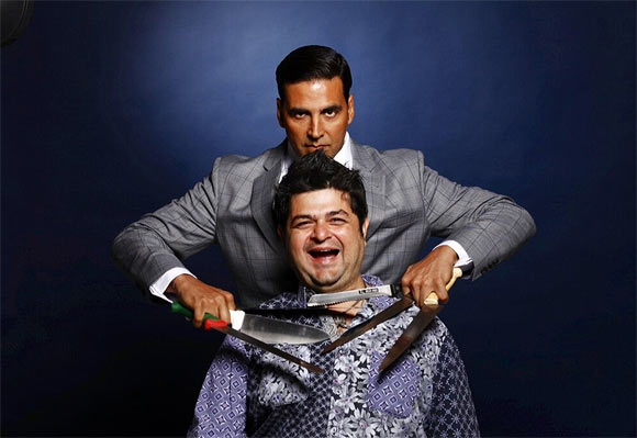Akshay Kumar and Dabboo Ratnani