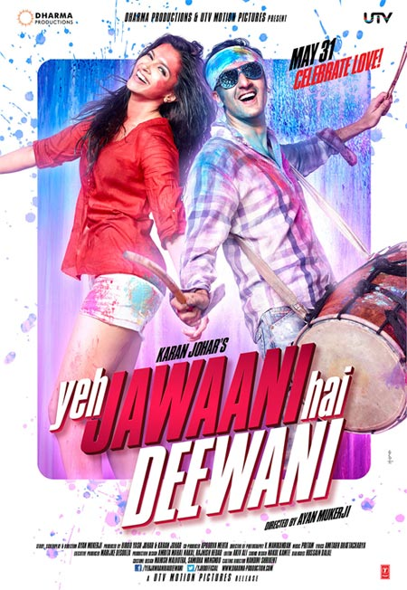 Movie poster of Yeh Jawaani Hai Deewani Posters