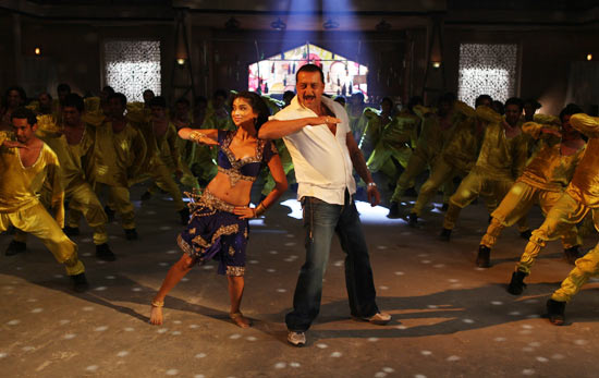 Shriya Saran and Sanjay Dutt