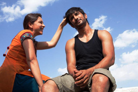 Amrita Puri and Sushant Singh in Kai Po Che