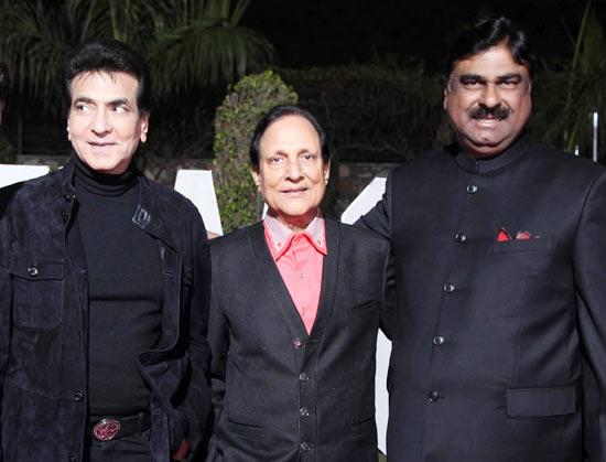 Jeetendra, Saawan Kumar Tak and  Ashok Pradhan