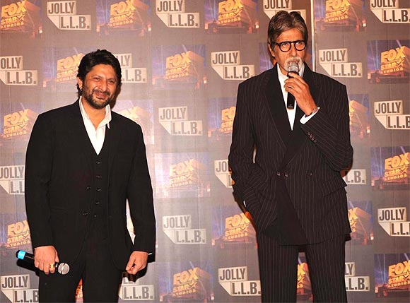 Arshad Warsi and Amitabh Bachchan