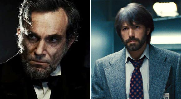 Scenes from Lincoln and Argo