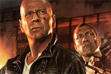 A scene from Die Hard 5