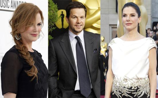 Nicole Kidman, Mark Wahlberg, Sandra Bullock