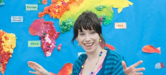 Sally Hawkins in Happy Go Lucky