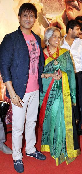 Vivek and Yashodhara Oberoi