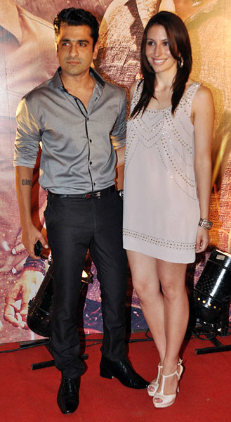 Ejaz Khan and Natasha