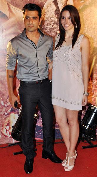 Ejaz Khan and Natasha