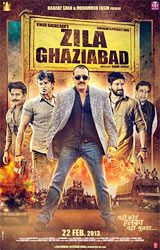 Movie poster of Zila Ghaziabad