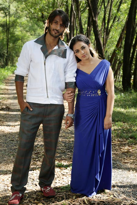 Mynaa is my most satisfying role so far rediff movies a scene from mynaa thecheapjerseys Choice Image