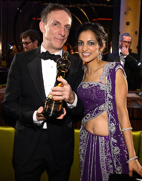 Mychael and Aparna Danna