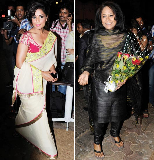 Richa Chadda and Seema Biswas