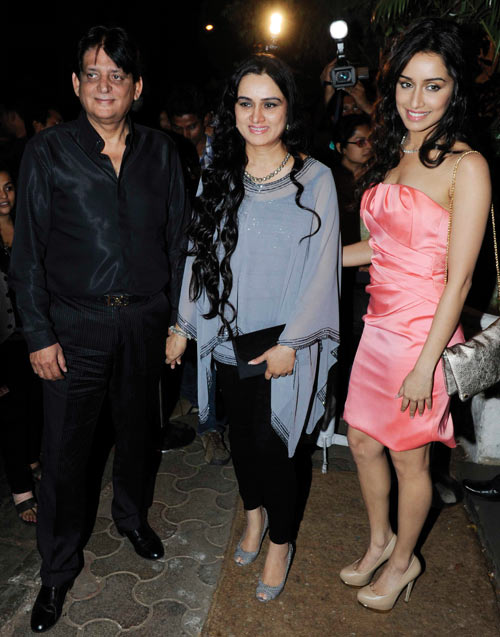 Tutu Sharma, Padmini Kolhapure and Shraddha Kapoor