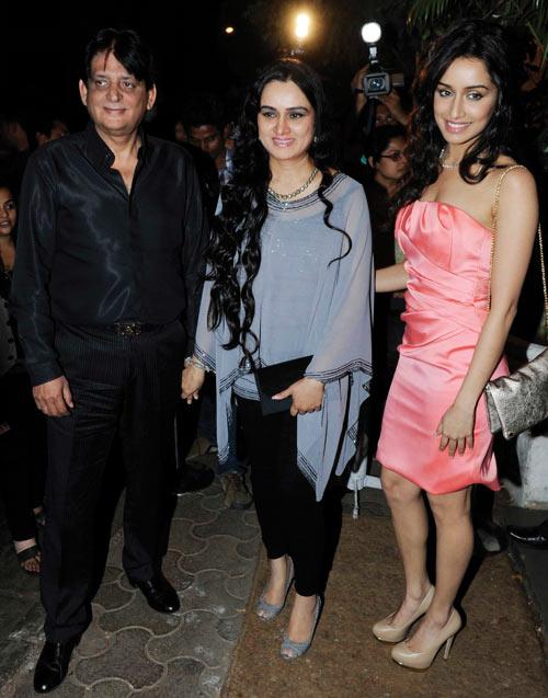 Tutu Sharma, Padmini Kolhapure and Shraddha Kapoor
