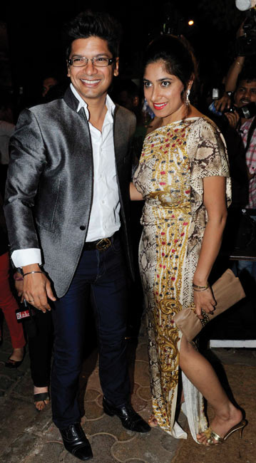 Shaan and Radhika Mukerjee