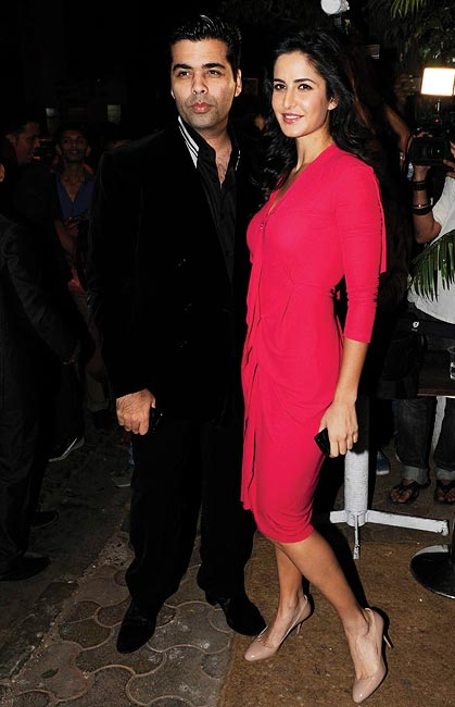 Karan Johar and Katrina Kaif