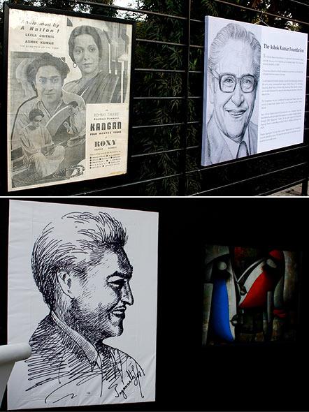 Ashok Kumar's paintings