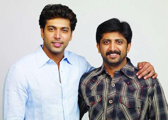 Jayam Ravi and  Jayam Raja