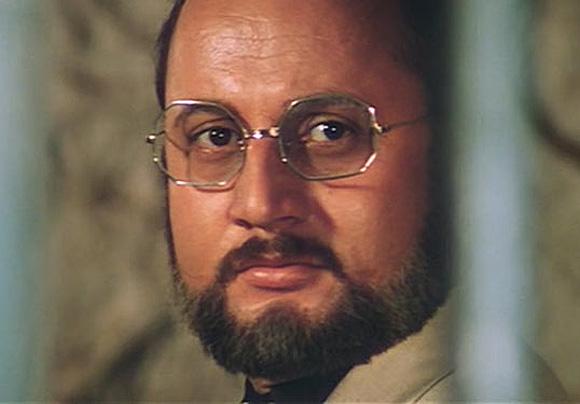 Anupam Kher as Dr Dang in Karma