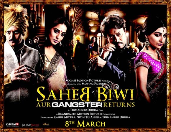 Movie poster of Saheb, Biwi Aur Gangster Returns